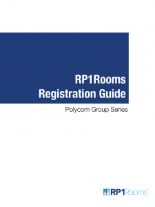 RP1Rooms - GS Registration Guide August 2019 V1.1 1